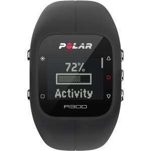 Ceas Polar FITNESS A300 BLACK HR