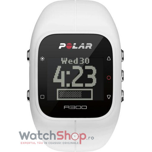 Ceas Polar FITNESS A300 WHITE