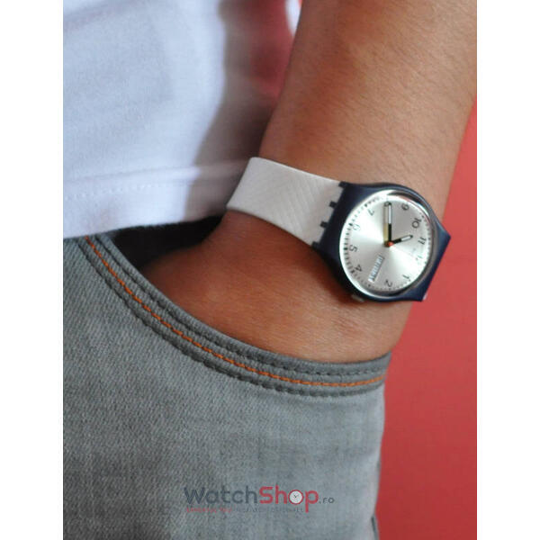 Ceas Swatch ORIGINALS GN720 White Delight