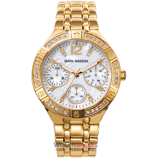 Ceas Mark Maddox GOLDEN CHIC MM6008-25