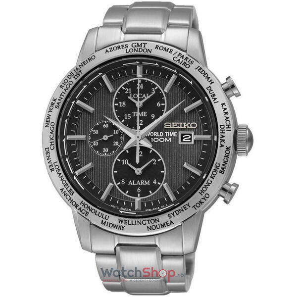 Ceas Seiko SPORTS SPL049P1 World Time