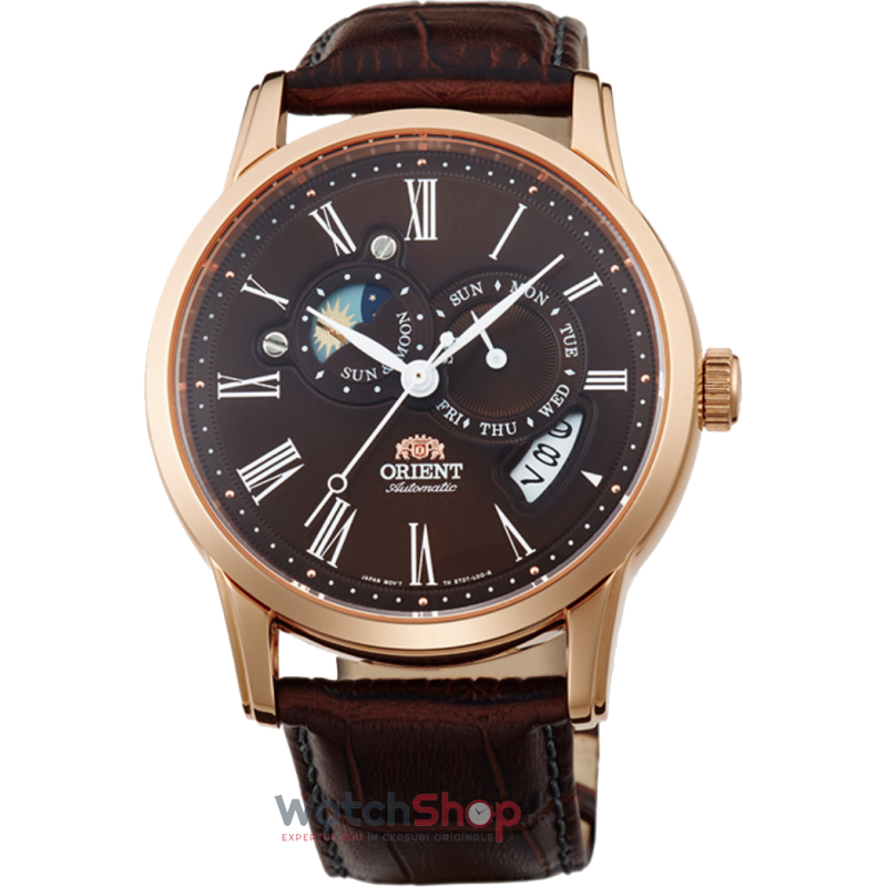 Ceas Orient CLASSIC AUTOMATIC FET0T003T0 SUN AND MOON