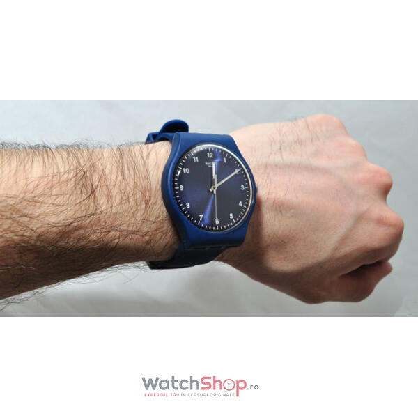 Ceas Swatch ORIGINALS SUON116 Mono Blue