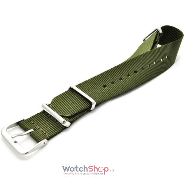 Curea (bratara) WS VELCRO GREEN-MILITARY/20mm