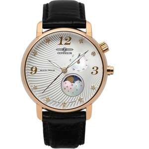 Ceas Zeppelin LUNA 7639-4 Moon Phase