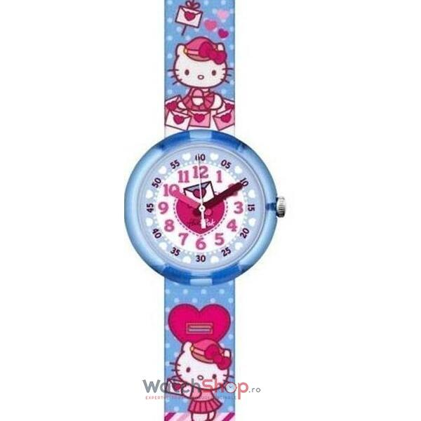 Ceas Flik Flak HELLO KITTY ZFLNP024 CUTE MAIL