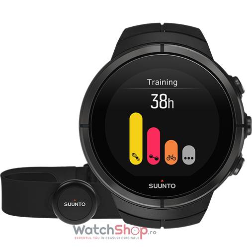 Ceas Suunto SPARTAN SS022654000 Ultra All Black Titanium HR