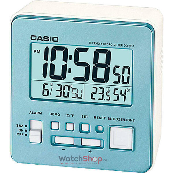Ceas de birou Casio WAKE UP TIMER DQ-981-2DF