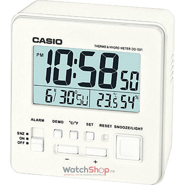 Ceas de birou Casio WAKE UP TIMER DQ-981-7DF