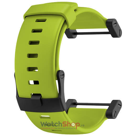 Curea (bratara) Suunto CORE CRUSH LIME RUBBER STRAP SS020798000
