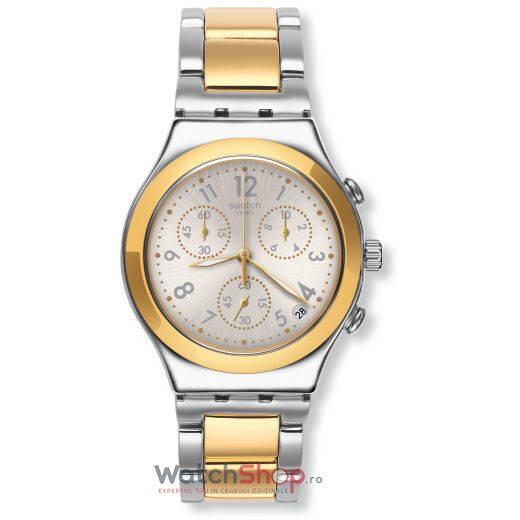 Ceas Swatch IRONY YCS590G Dreamnight Golden