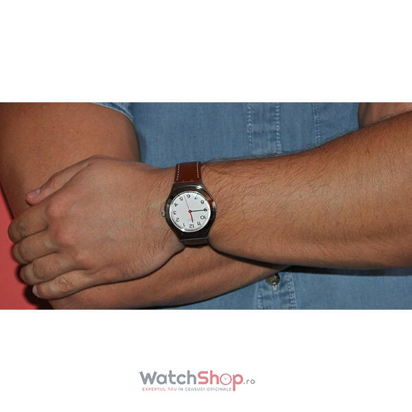 Ceas Swatch IRONY YGS131 Strictly Silver