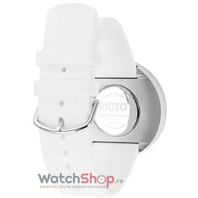 Ceas PICTO 43364-0220S Silicone 40mm