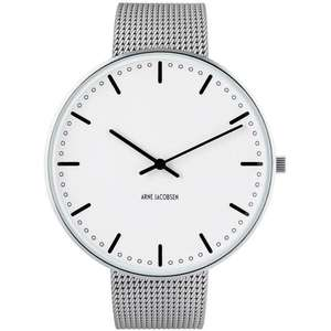 Ceas Arne Jacobsen CITY HALL 53203-2208 Mesh L