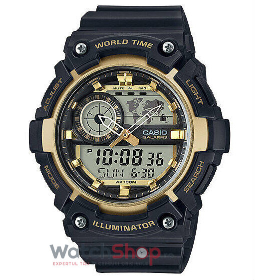 Ceas Casio SPORT AEQ-200W-9A World Time