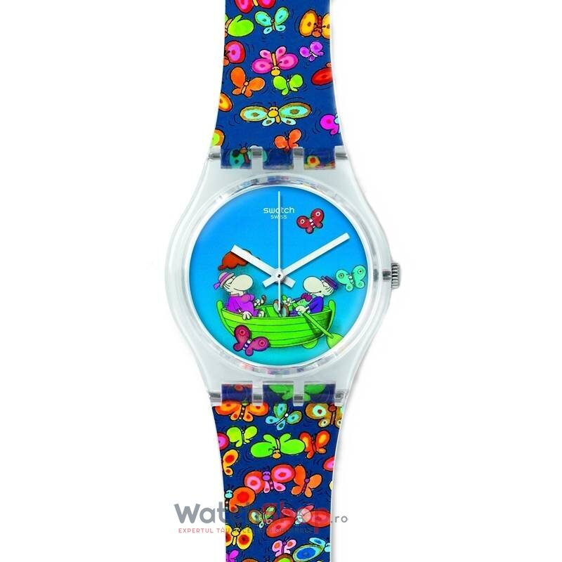 Ceas Swatch ORIGINALS GZ307S Planet Love de la Swatch