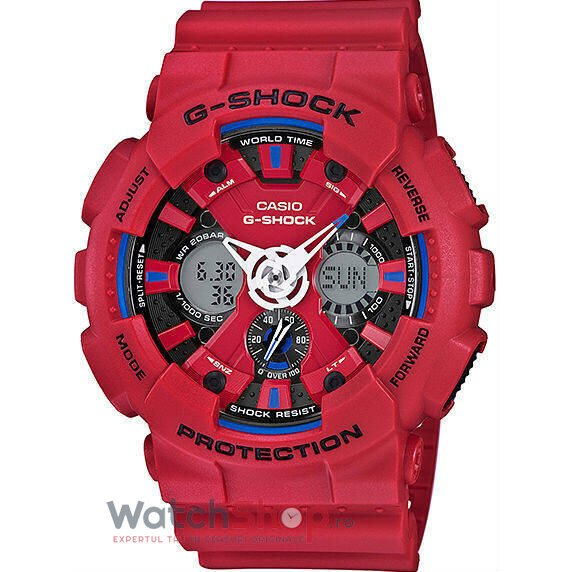 Ceas Casio G-SHOCK GA-120TR-4AER Tri Color Series