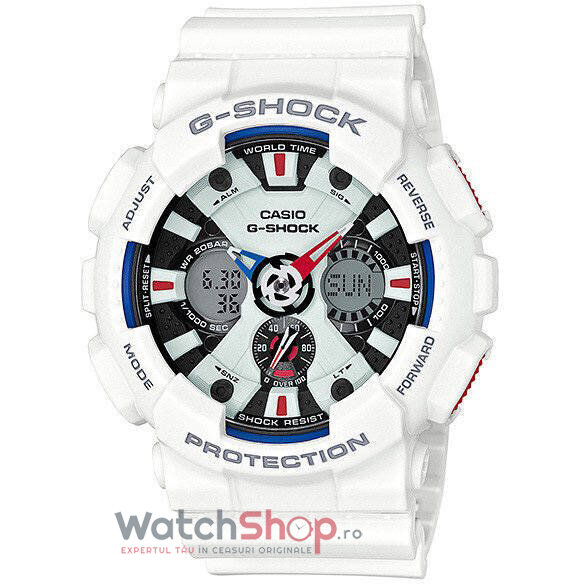 Ceas Casio G-SHOCK GA-120TR-7A Tri Color Series