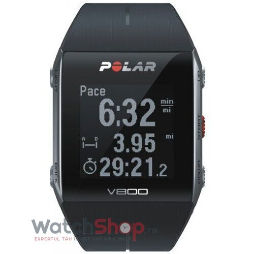 Ceas Polar TRAINING COMPUTER V800 Black