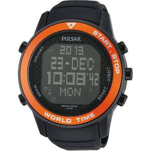 Ceas Pulsar DIGITAL PQ2031X1 Worldtimer Chrono