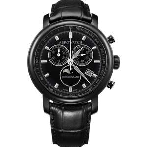 Ceas Aerowatch RENAISSANCE A84936 NO03 Moon Phases Cronograf