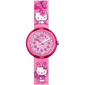 Ceas Flik Flak HELLO KITTY ZFLNP005 Butterfly