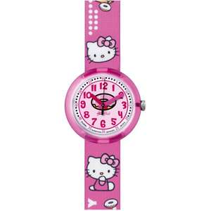 Ceas Flik Flak HELLO KITTY ZFLNP001 Cafe