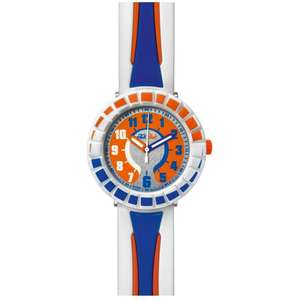 Ceas Flik Flak HOT MODELS ZFCSP009 All Around Blue & Orange