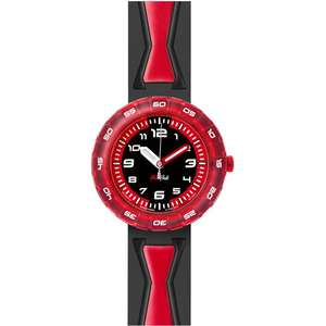 Ceas Flik Flak HOT MODELS ZFCSP015 Get In Red