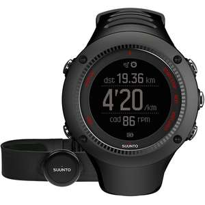 Ceas AMBIT3 RUN BLACK (HR)