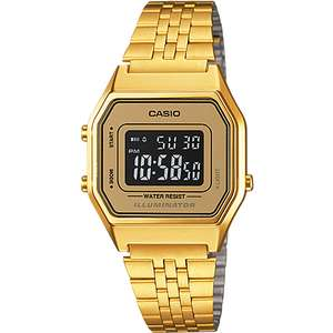 Ceas Casio RETRO LA680WGA-9BDF Gold