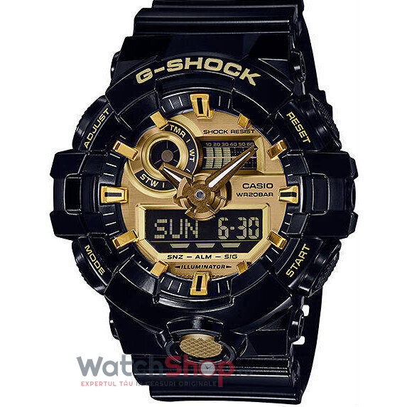 Ceas Casio G-SHOCK GA-710GB-1AER de la Casio