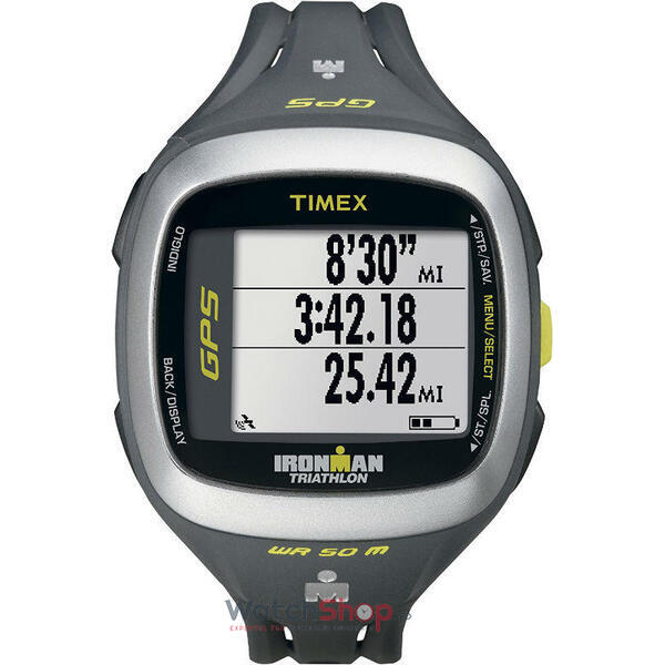 Ceas Timex IRONMAN T5K745 Run Trainer 2.0 GPS