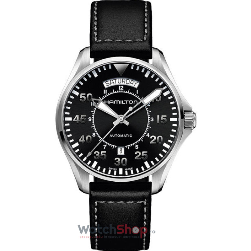 Ceas Hamilton KHAKI AVIATION H64615735 PILOT AUTOMATIC