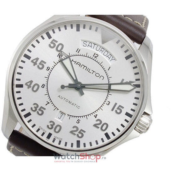 Ceas Hamilton KHAKI AVIATION H64615555 PILOT AUTOMATIC