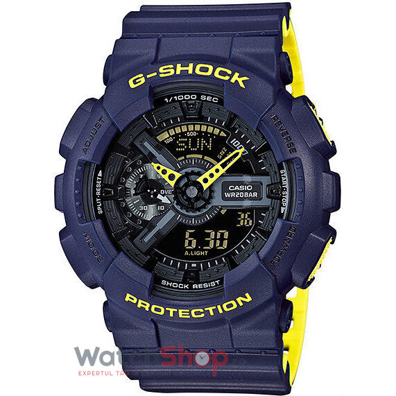 Ceas Casio G-SHOCK GA-110LN-2AER Antimagnetic Hyper Colours