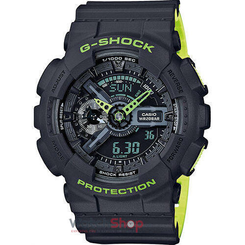 Ceas Casio G-SHOCK GA-110LN-8AER Antimagnetic Hyper Colors