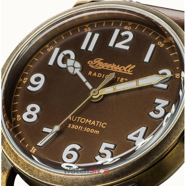 Ceas Ingersoll THE LINDEN I04801 Radiolite Automatic