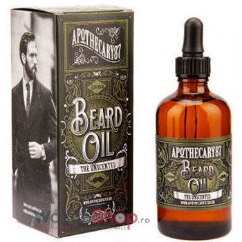 Apothecary87 ULEI DE BARBA The Unscented 100 ml