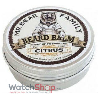 Mr Bear Family BALSAM PENTRU BARBA Citrus 60 ml