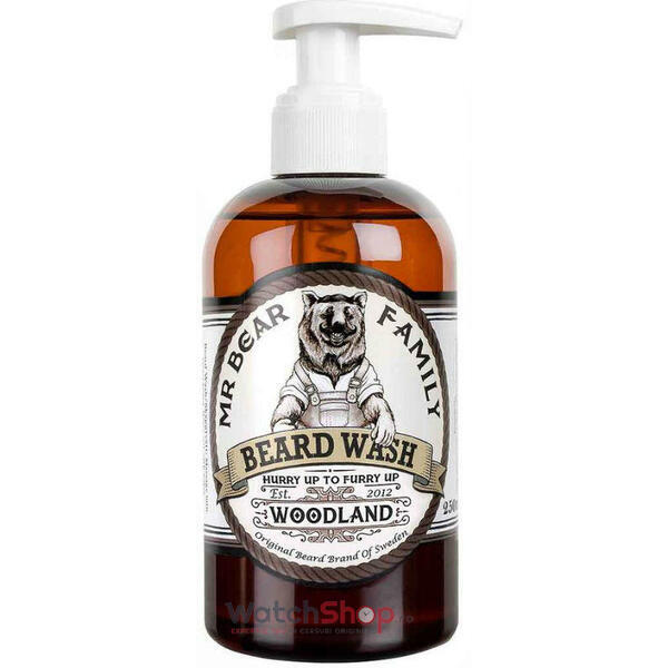 Mr Bear Family SAMPON PENTRU BARBA Woodland 250 ml