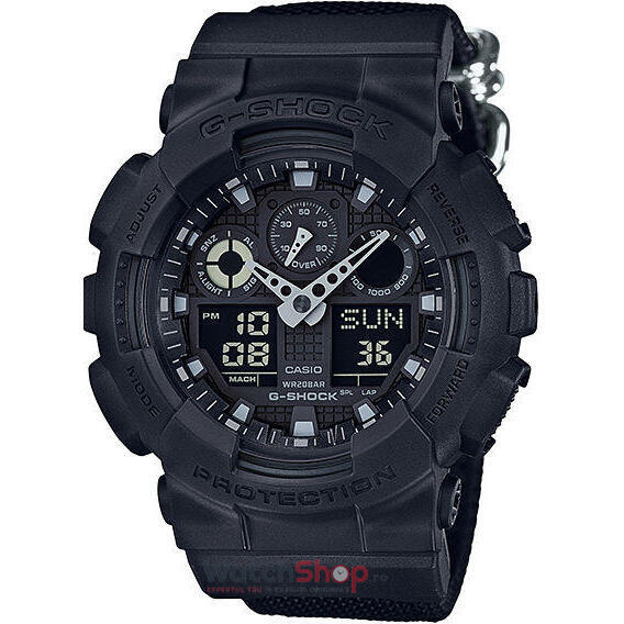 Ceas Casio G-SHOCK GA-100BBN-1AER Antimagnetic