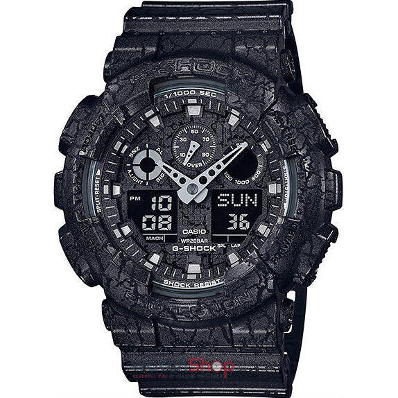 Ceas Casio G-SHOCK GA-100CG-1AER Antimagnetic