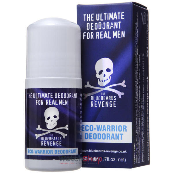 Bluebeards Revenge DEODORANT Roll On Eco Warrior 50 ml