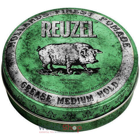 REUZEL POMADA Green Grease Medium 113 Gr
