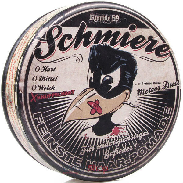 Schmiere POMADA Rock Hard 140 ml