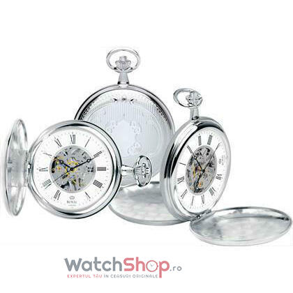 Ceas Royal London POCKET WATCH 90005-01 Double