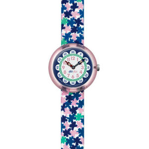 Ceas Flik Flak LONDON FLOWER ZFBNP080