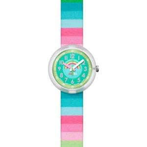 Ceas Flik Flak POWER TIME ZFPNP014 Stripy Dreams