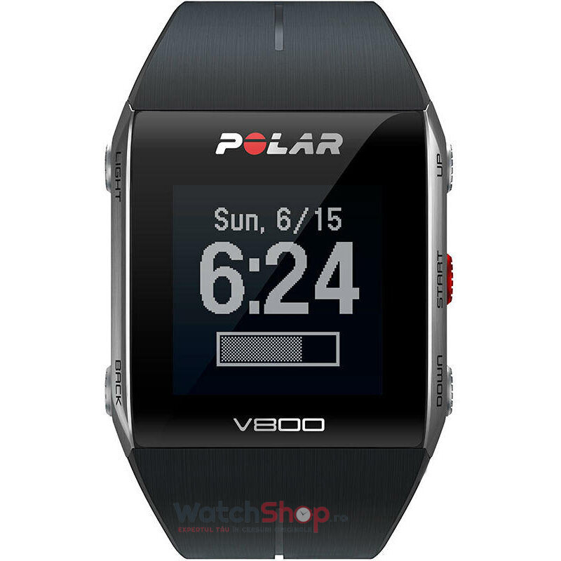 Ceas Polar TRAINING COMPUTER V800 BLACK 90060770 GPS de la Polar